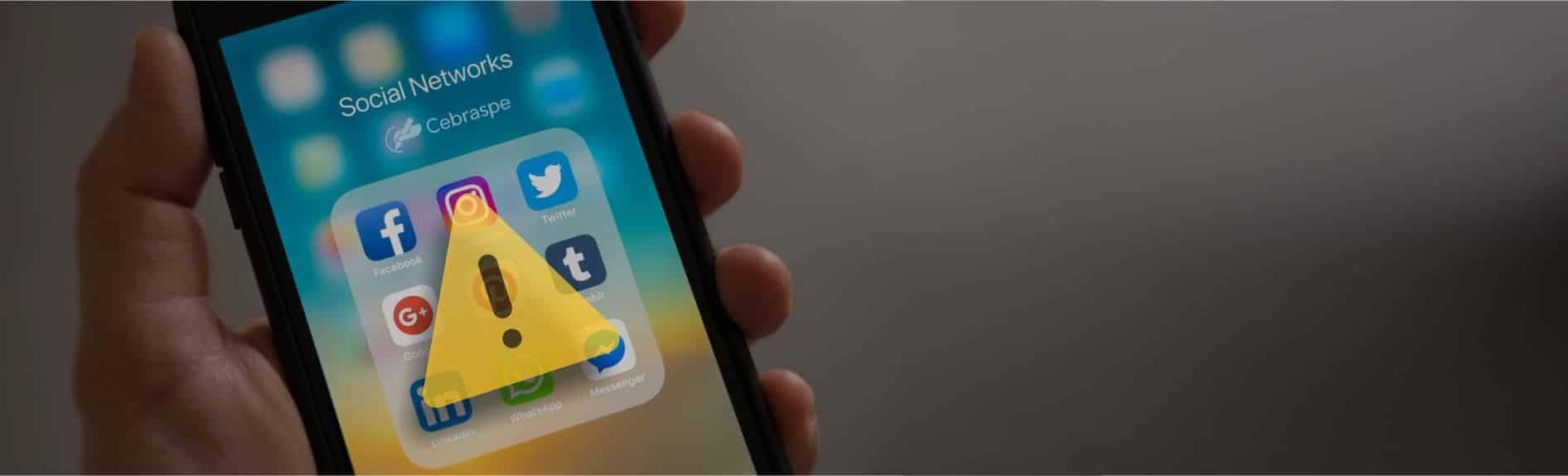 <div>Cebraspe alerta sobre perfis</div><div>falsos em redes sociais</div>